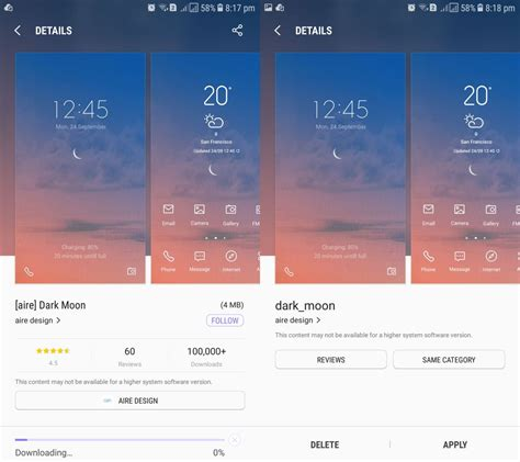 samsung clock themes com how to change the lock screen vertical clock on a samsung