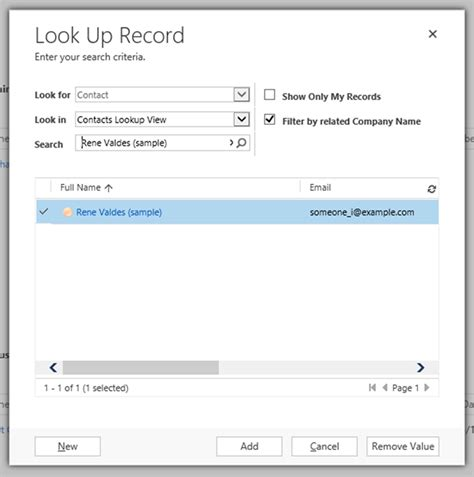 Look Up Records How To Filter Lookups By Related Records In Dynamics 365