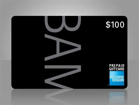 Bam Gift Card - bam bam gift card by american express