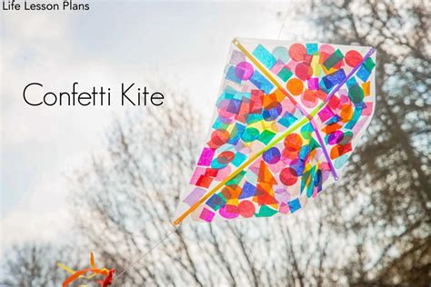 kite craft for how to make a kite confetti kite crafts