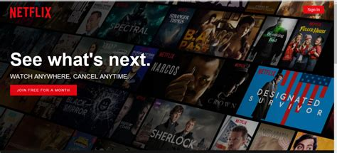 netflix login sign in page