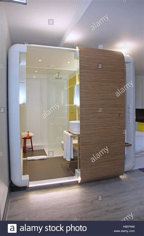 self contained bathroom trendy hotel room in london s brick lane area whitechapel
