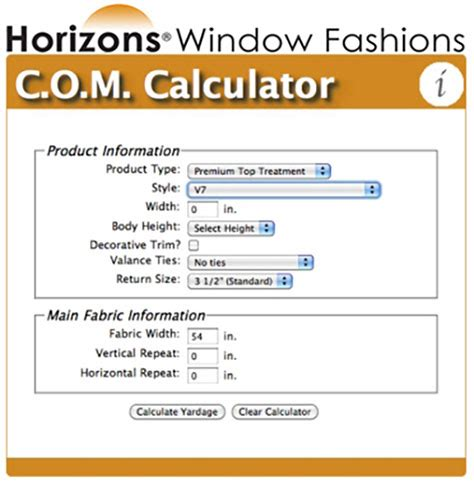 fabric pattern repeat calculator com calculator