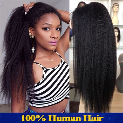 lace front wigs human hair wigs weave hairstyles beauty products italian yaki full lace wig peruvian human hair lace front