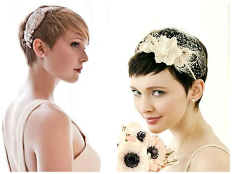 pixie bridal hairstyles with bangs   Women Hairstyles