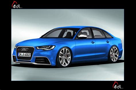 Audi Rs6 Coupe by 2012 Audi Rs6 Sports Sedan Rendered By Photoshop Buff