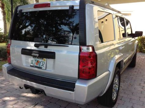 2007 Jeep Commander Towing Capacity Sell Used 2007 Jeep Commander Rocky Mountain Warranty