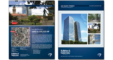 Commercial Real Estate Brochure Template by Commercial Real Estate Flyer Search Real Estate