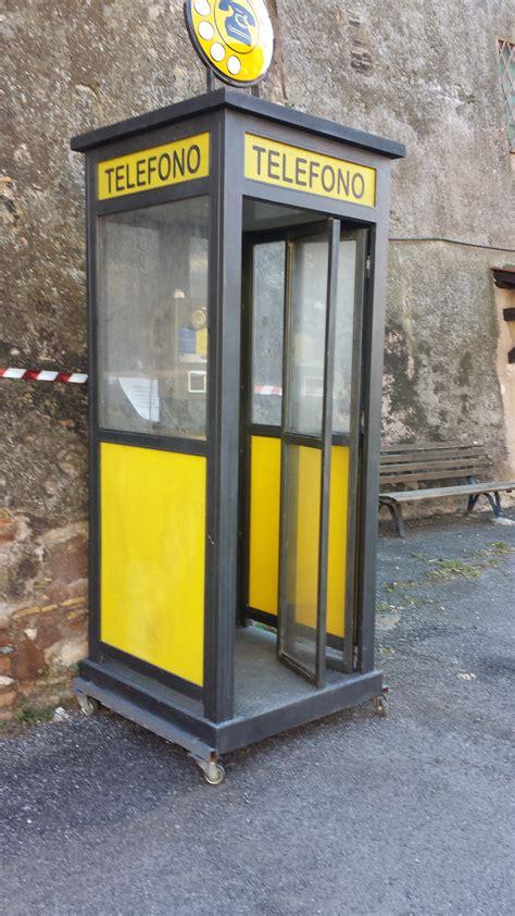 cabine telefoniche sip cabina telefonica sip vittorio imperia pergolati
