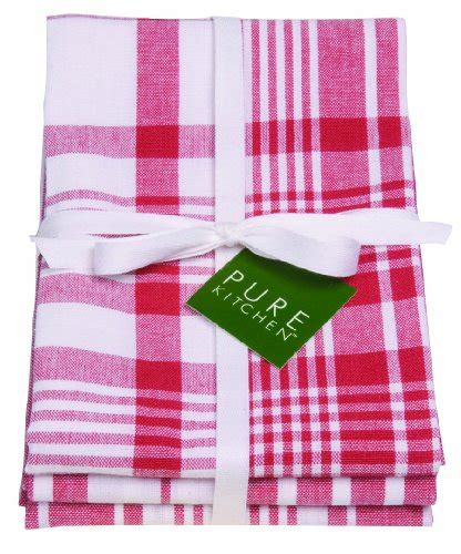 now designs kitchen towels now designs jumbo pure kitchen towel set of 3 red