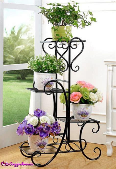 model rak bunga anggrek  besi  kayu anggrekmaniacom