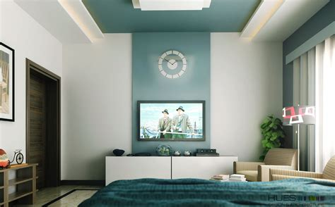 teal feature wall bedroom teal white tv entertainment unit interior design ideas