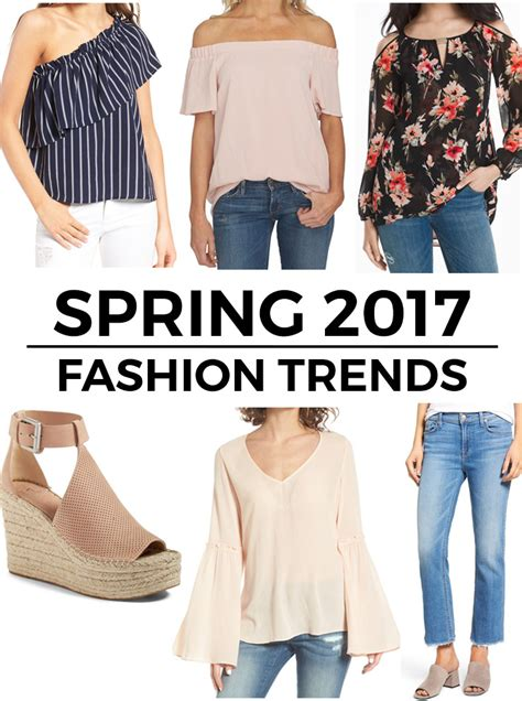 fashion trends 2017 6 top spring 2017 fashion trends
