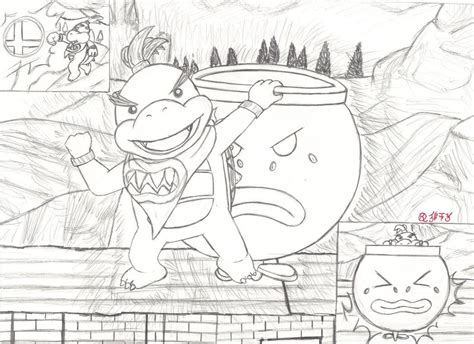 mario koopalings coloring pages koopalings coloring pages coloring home
