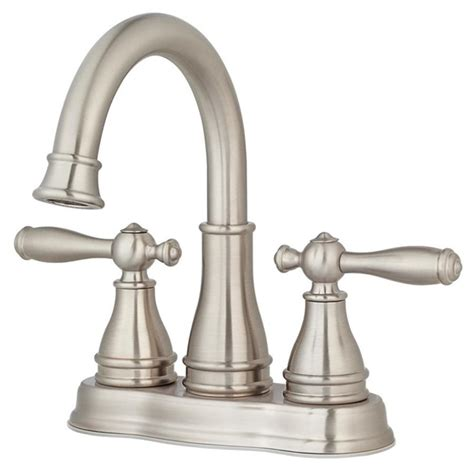 pfister sonterra 2handle 4in brushed nickel centerset