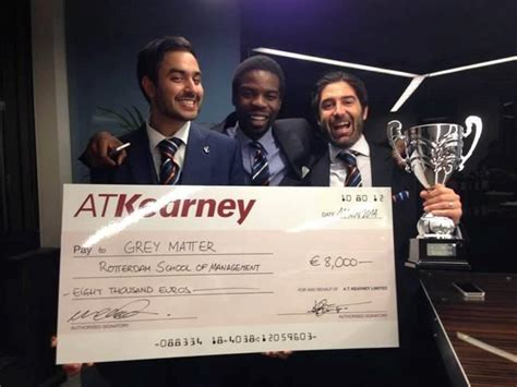 What Is An Mba Competition by Rsm Team Tops A T Kearney European Mba Competition