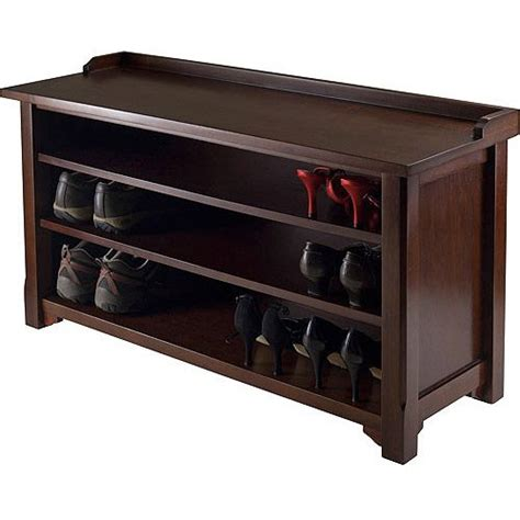 walmart shoe storage bench dayton entryway bench with shoe storage walmart 104 fix er up pinterest