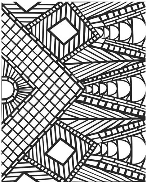 coloring pages adults geometric free printable geometric coloring pages coloring pages