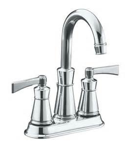 kohler archer bathroom faucet in polished chrome finish