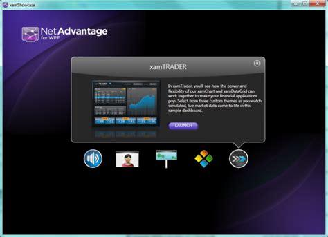 tutorial wpf web application netadvantage wpf sles