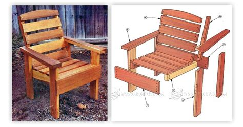 Deck Chair Plans Woodarchivist Wood Patio Chair Plans