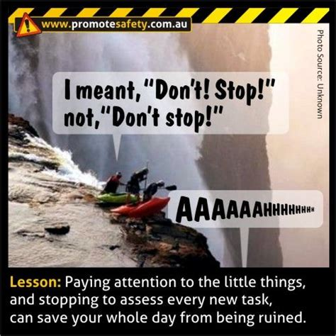 Funny Safety Memes - funny safety meme don t stop health safety humour