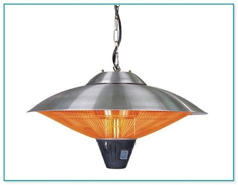 Sense Hanging Halogen Patio Heater by Sense Hanging Halogen Patio Heater