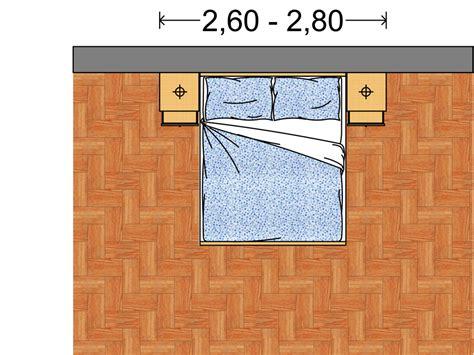 arredi da letto arredi da letto le dimensioni standard domuseco