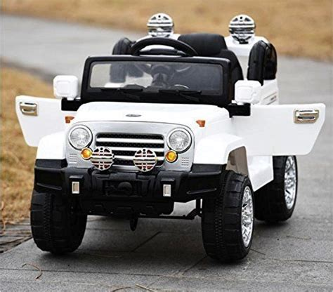 toy jeep for kids exclusive ride on car 12v jeep wrangler style toy for kids