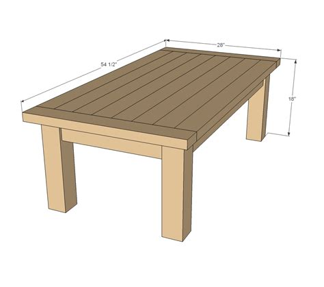 coffee table woodworking plans woodshop plans