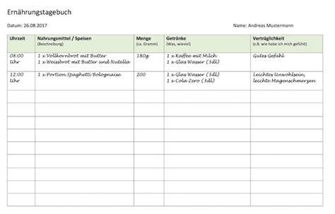 Muster Datenschutzerklärung Schweiz Ern 228 Hrungstagebuch Vorlage Muster Vorlage Ch