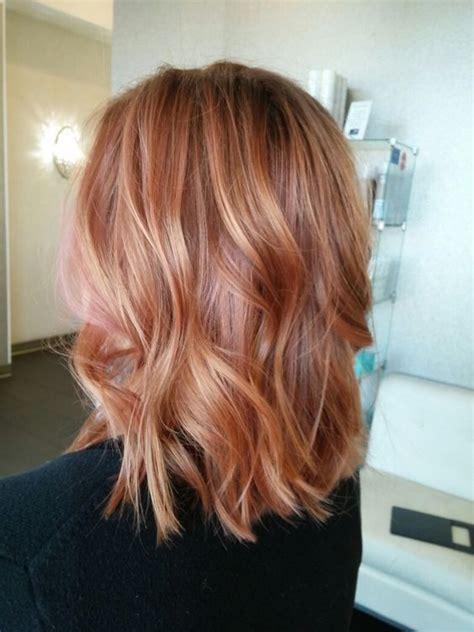 strawberry blonde balayage formula hair color donalovehair