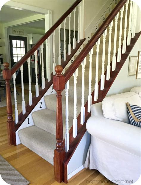 buy a banister banister restyle in java gel stain general finishes