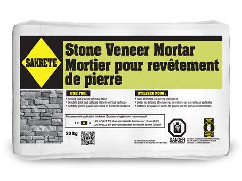 sakrete veneer mortar gt king home improvement products