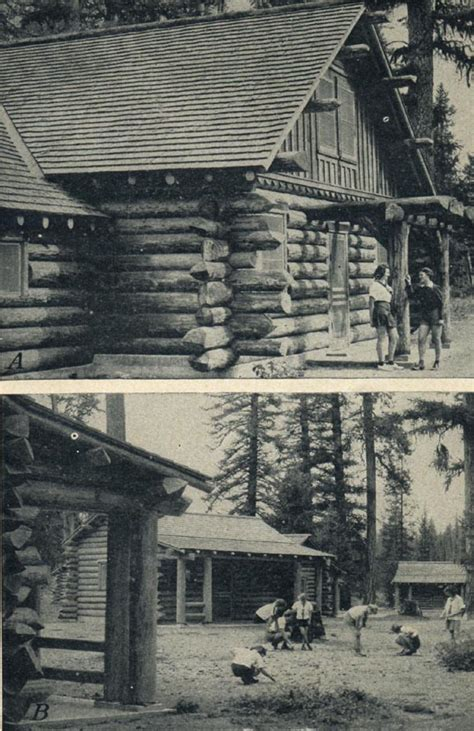 C Seely Cabins by Building With Logs Olympic National Park