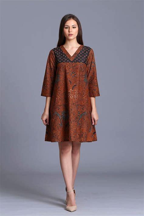Baju Batik Modern Kebaya Muslim Dress Kemeja Pria Danaraja 2 simple but batik kebaya and batik dress