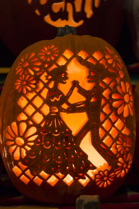 dia de los muertos pumpkin template gorgeous pumpkins at dia de los muertos