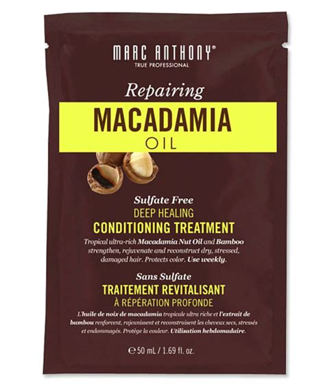 The Hair Detox For And Damaged Strands by Marc Anthony Macadamia Conditioning Treatment Best