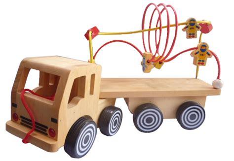 Puzzle Truk 17x20 truk alur kawat astro mainan kayu