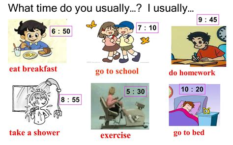 what time do i go to bed what time do you go to school ppt video online download