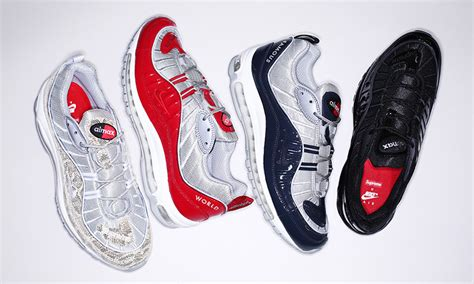 nike x supreme supreme x nike air max 98 will only be available