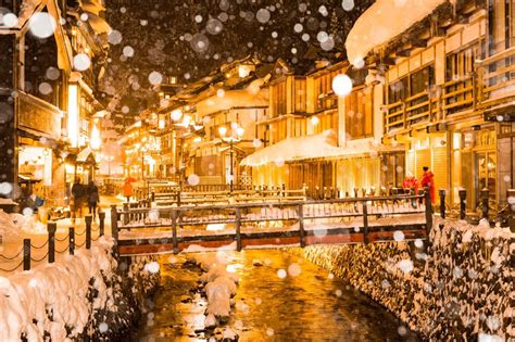 japanese town magical japanese town the snow 1 fubiz media