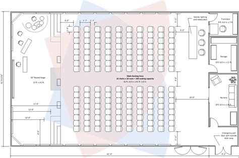 Church Fellowship Hall Floor Plans by New Sanctuary New Setup