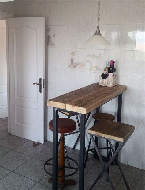 industrial mill style reclaimed wood kitchen island best 25 wooden breakfast bar stools ideas on pinterest