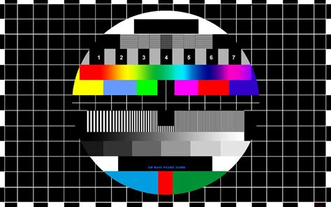 test pattern tv idea studio television and video test patterns