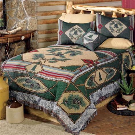 Log Cabin Bedding C Woodland Bedding Set Cabin Pine Cone Bedding Sets