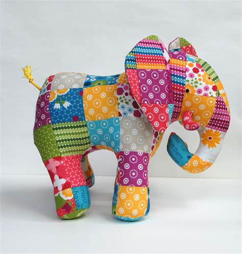 Elephant Patchwork - going from pdf to print whileshenaps