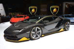 Lamborghini Company Lamborghini Centenario Breaks Cover At Geneva Motor Show