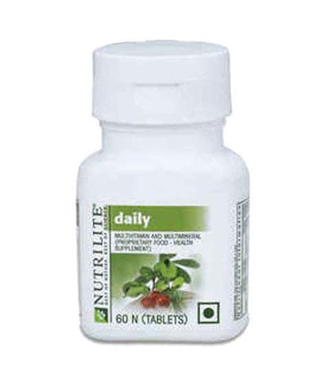 Vitamin Daily Amway Amway Nutrilite Daily 60 Tablet Buy Amway Nutrilite