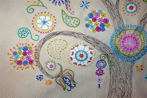 Free Handmade Embroidery Designs - visit crafts page for the embroidery trends